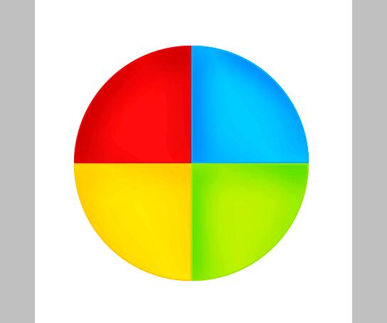 Процесс рисования иконки Google plus