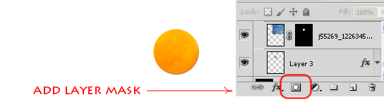 Создание иконки RSS в фотошопе