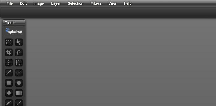 Графический онлайн редактор Splashup