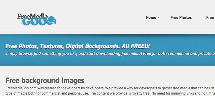Бесплатный фотосток Free Media Goo