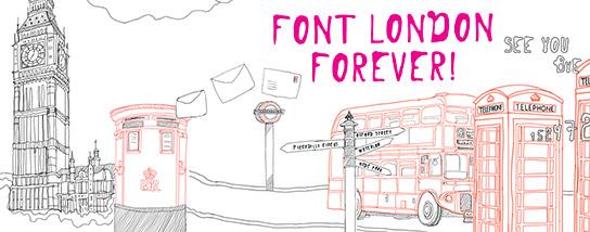 Кириллический шрифт london
