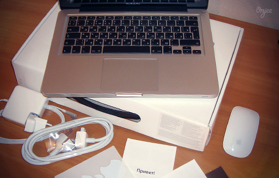 Комплектация Macbook pro13