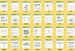 Модульная сетка в веб-дизайне